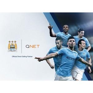 Qnet становится официальным партнером футбольного клуба «Манчестер Сити»
