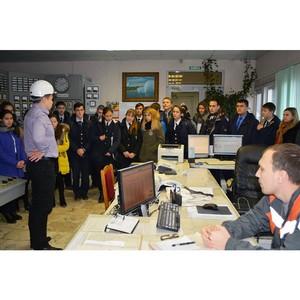 Школьники столицы Чувашии побывали с ознакомительной экскурсией на Чебоксарской ТЭЦ-2