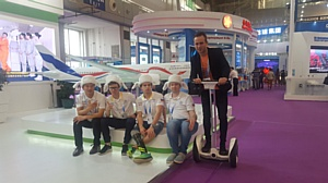 Участники фестиваля «От винта!» с успехом представили свои изобретения в китайском Харбине