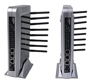 ����� 8�������� VoIP-GSM ������ VoiceFinder AP-GS708 ��������� � ������ ��������