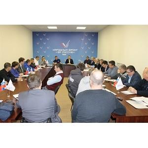 Активисты ОНФ в Челябинской области обсудили реализацию общественных предложений