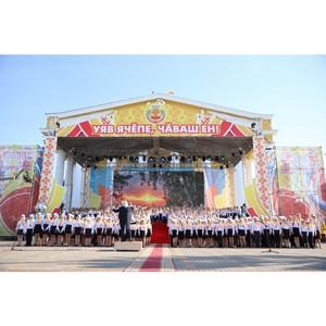 Сводный детский хор Чувашии собрал аншлаг на празднике День Республики