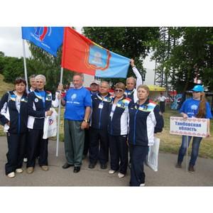 Пенсионер из Тамбова стал самым возрастным участником Всероссийской спартакиады