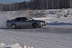 Ice Drive: Невероятный праздник автолюбителей! Любительские соревнования Nissan на льду