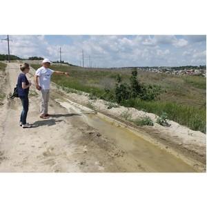 Активисты ОНФ выявили ряд экологических проблем на территории Балки Пахотина в Волгограде
