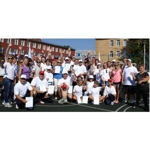 В Курске подвели итоги малой летней спартакиады группы ВТБ