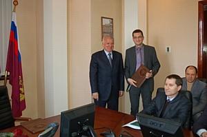 Награждены сотрудники Управления Росреестра по Краснодарскому краю
