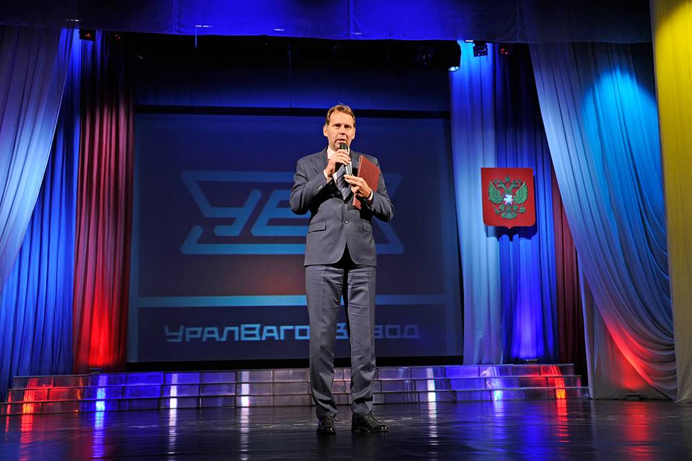 На Уралвагонзаводе поздравили танкостроителей
