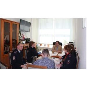 Представители окружной и столичной полиции посетили Центр поддержки семьи и детства «Зеленоград»
