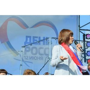 Активисты ОНФ в Алтайском крае приняли участие в праздновании Дня России