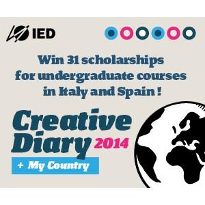 Creative Diary. IED предоставляет стипендии для обучения в Италии и Испании