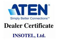 Инсотел выложил серию решений, усовершенствующих IT и A/V системы на базе KVM Aten