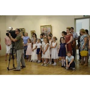 Ростовчане могут насладиться детскими портретами от мастеров до 9 октября