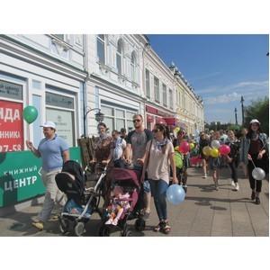 В День семьи, любви и верности активисты ОНФ в Омской области провели «Парад семьи»