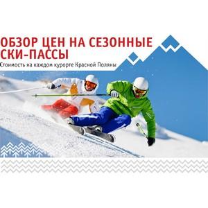 Горнолыжный сезон: Обзор сезонных ски-пассов на курортах Красной Поляны