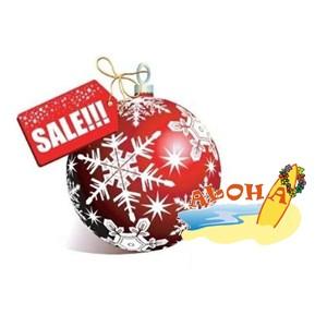Сеть турагентств пляжного отдыха «Алоха» проводит новогоднюю распродажу туров