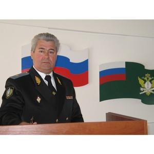 Ветераны Управления поздравили А.М. Пархоменко с 70-летним юбилеем