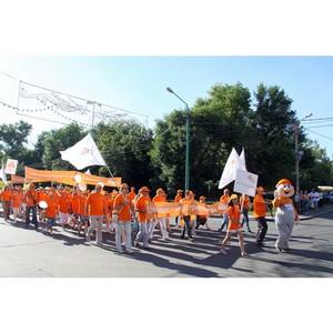 «Липецкцемент» принял участие в Параде трудовых коллективов в рамках празднования Дня города Липецка