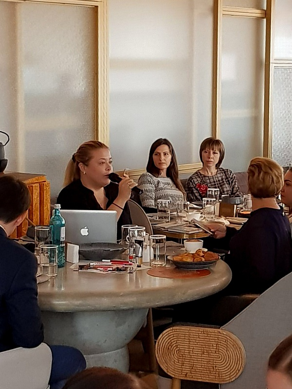 Традиционный деловой завтрак для партнеров с F.I.L.A. Russia