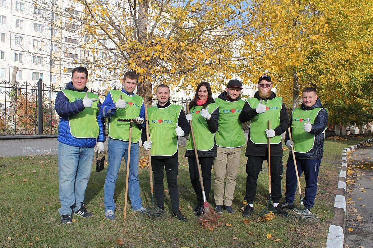 Молодые работники Стойленского ГОКа провели волонтерский субботник