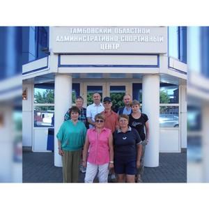 Тамбовские пенсионеры отправились на Всероссийскую Спартакиаду