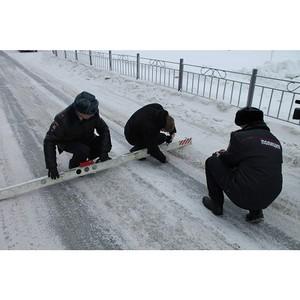 Активисты ОНФ на Ямале раскритиковали качество уборки снега на дорогах Салехарда