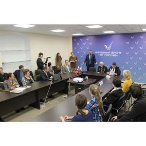ОНФ в Петербурге принял участие в телемосте ко Дню полного освобождения Ленинграда от блокады