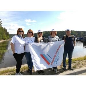 ОНФ в Карелии провел экологическую акцию по очистке побережья и островов Ладожского озера от мусора