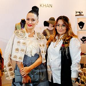 21-26 марта бренд Khan представил коллекцию осень-зима 2018 в рамках Недели моды