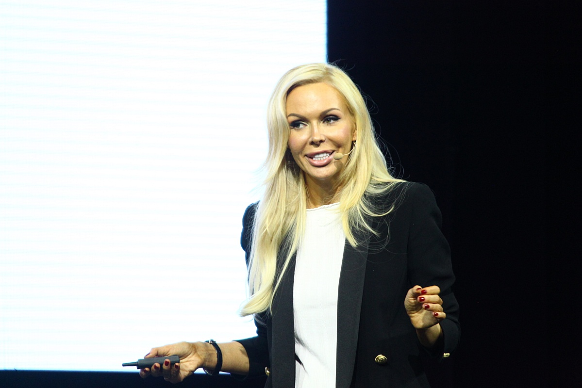 Алиса Лобанова выступила на форуме Синергия