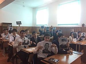 Активисты ОНФ в Чечне провели мероприятие, приуроченное к Дню защитника Отечества