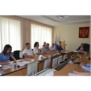 Члены Общественного совета Управления Росреестра обсудили проблемы по земельному контролю и работе кадастровых инженеров