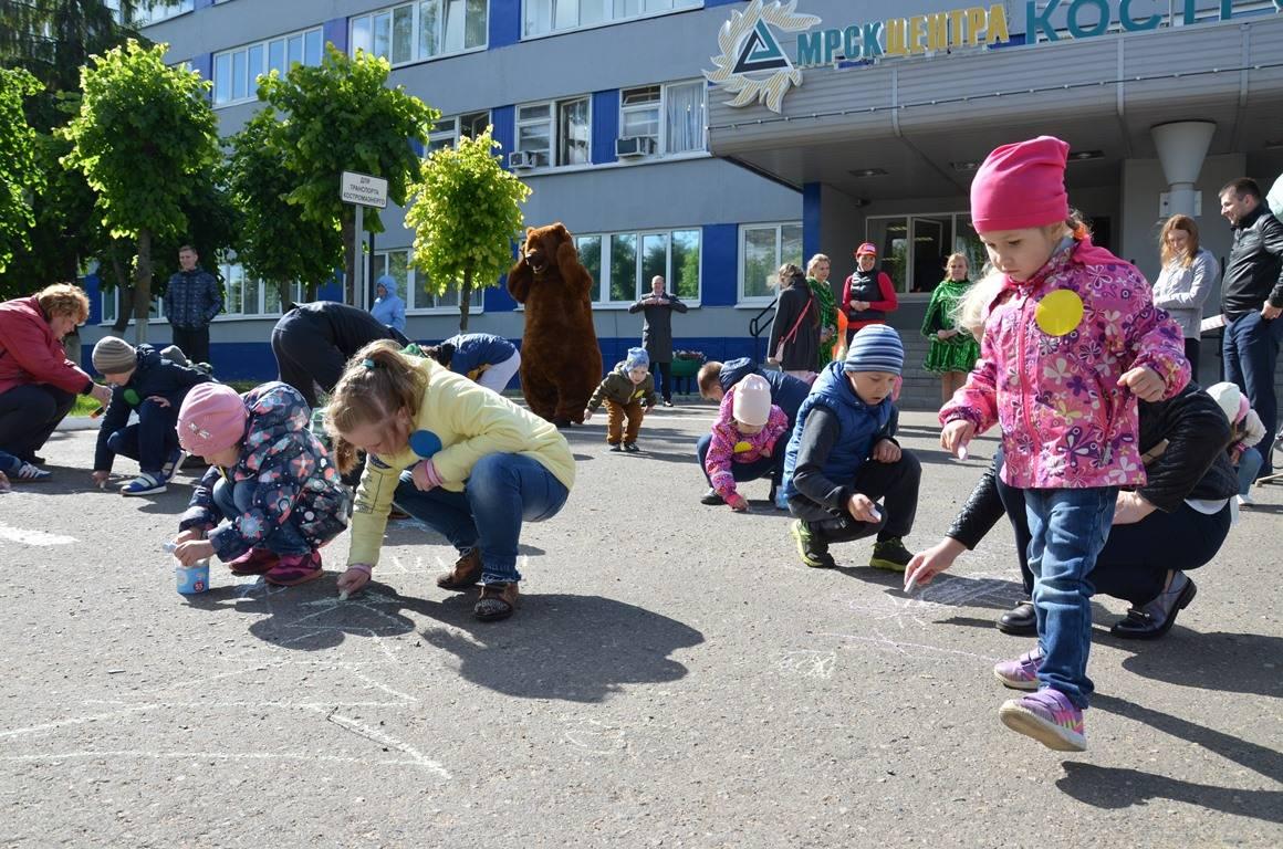 В Костромаэнерго 1 июня прошел праздник для детей работников предприятия