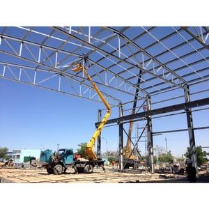 Завершено строительство здания локомотивного депо в Республике Казахстан