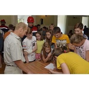 Работники и студотрядовцы Тамбовэнерго провели урок по энергосбережению в санатории «Энергетик»