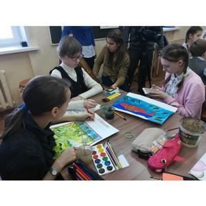 Школьники и студенты Карелии принимают участие в конкурсе плакатов ОНФ «День выборов»