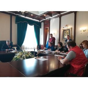 Активисты ОНФ обсудили с главой Карелии реализацию общественных предложений