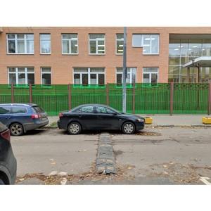 Московский штаб ОНФ добился установки искусственных дорожных неровностей у школы на улице Барклая