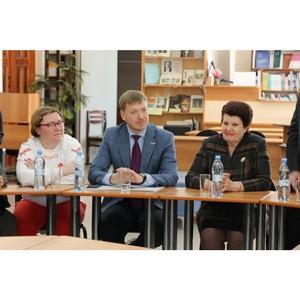 Курганские активисты Народного фронта встретились со студентами в Шадринске