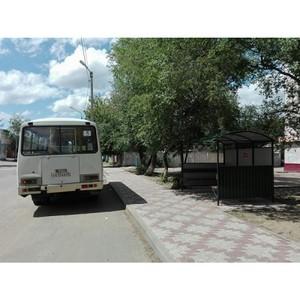 В городах Амурской области благоустраивают автобусные остановки с учетом рекомендаций активистов ОНФ