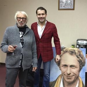 Даниил Фёдоров написал портрет «высокого блондина в черном ботинке»