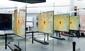 Oled-телевизоры LG Signature серии W откроют новые горизонты в области ТВ-дизайна