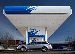 Первая автоматическая АЗС «Газпромнефть» построена в Москве