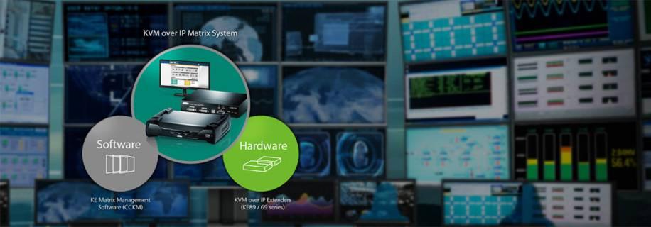 ATEN 4K KVM over IP Matrix System – исключительная гибкость и абсолютный контроль