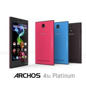 Смартфоны Archos Platinum: добавь цвета в осенние будни