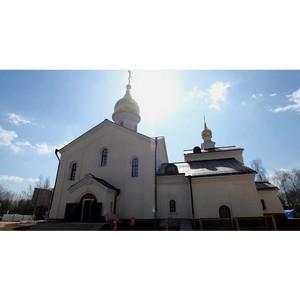 Сергей Лёвкин: В поселке Мещерский готовится к сдаче храм Казанской иконы Божией Матери
