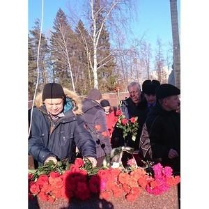 Митинг, посвященный Дню памяти воинов - интернационалистов