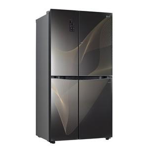 Передовые технологии сохранения свежести продуктов в новой серии Side-by-side холодильников LG