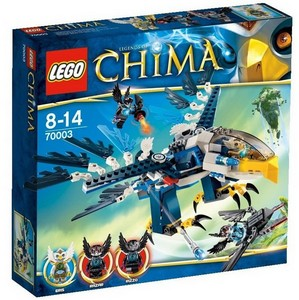 Абсолютная новинка Lego Legends of Chima в продаже