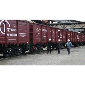 ПГК увеличила объемы перевозок в полувагонах в Красноярском регионе